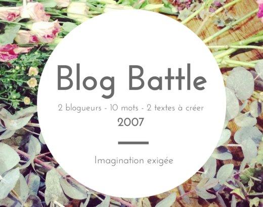 Blogbattle : TheCélinette vs Davidous