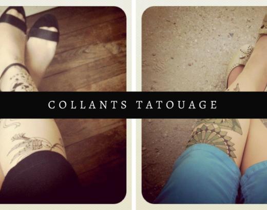 Des collants imprimés tatouage – Etre presque rebelle