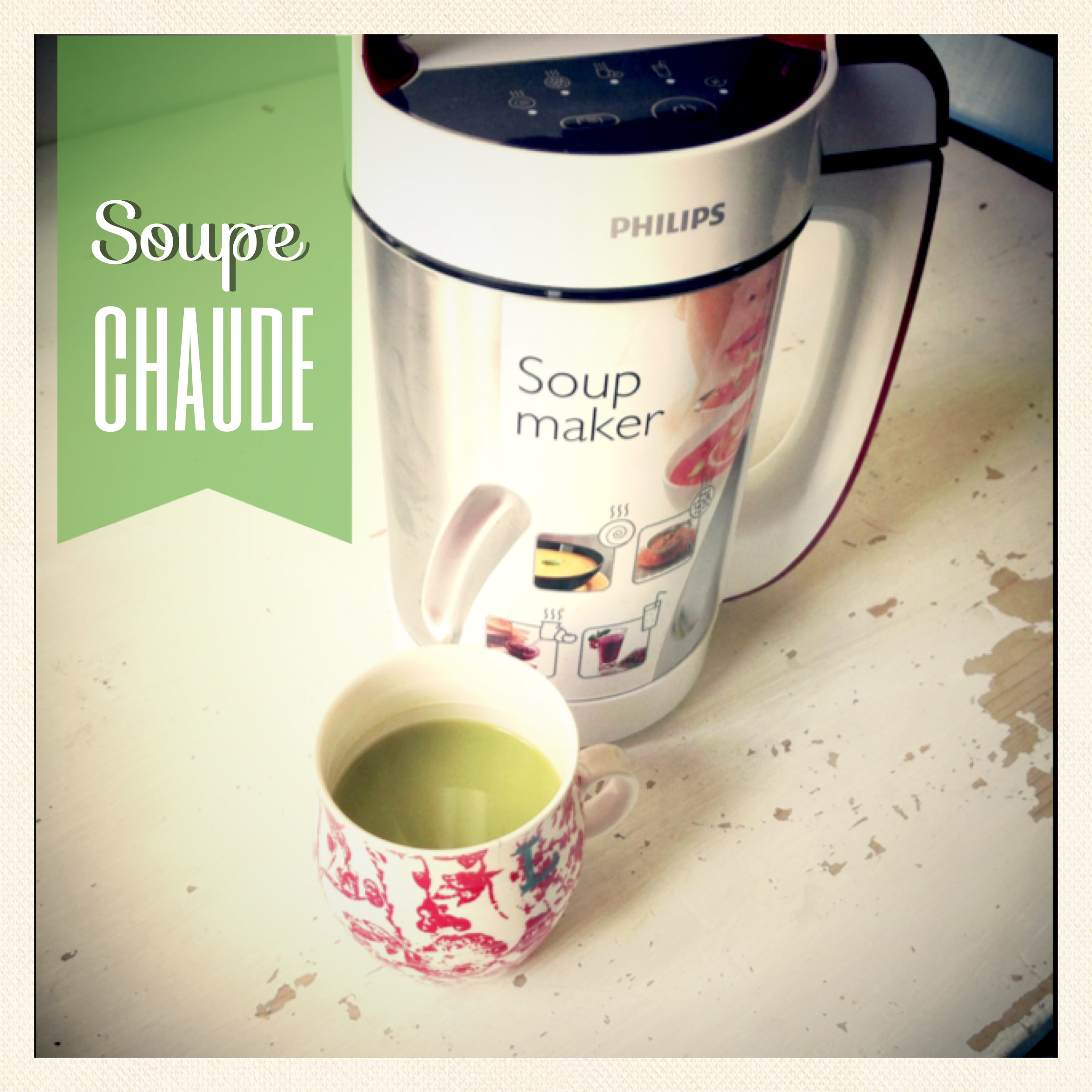 mon test du soupmaker de philips the c linette. Black Bedroom Furniture Sets. Home Design Ideas