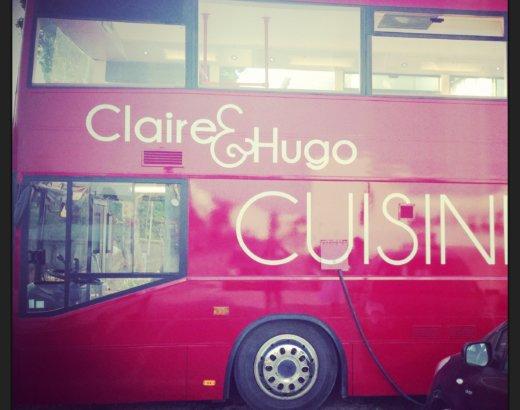 Toi aussi, viens déguster un burger dans un bus – Claire & Hugo : le street food débarque à Troyes