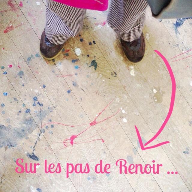 Sur les pas de Renoir