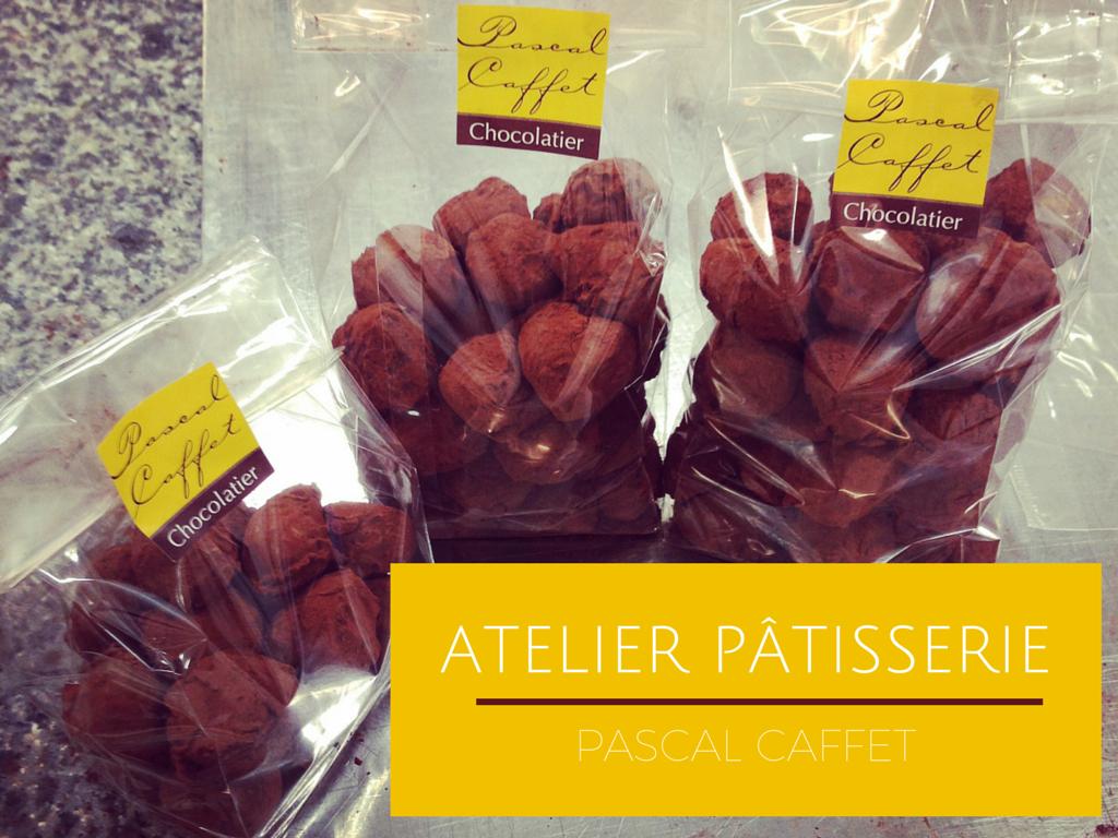 Faire de la pâtisserie avec un meilleur ouvrier de France ( atelier Pascal Caffet )