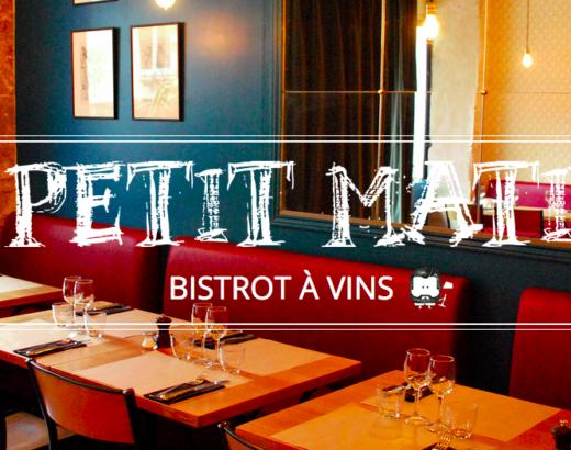 Le Petit Matieu  bistrot à vins (Paris)