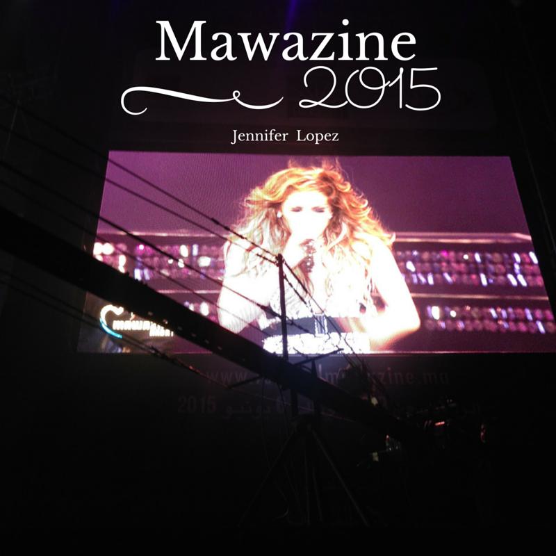 Jennifer Lopez à Mawazine 2015