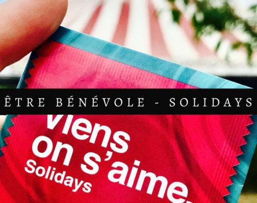 Pourquoi je suis bénévole à Solidays