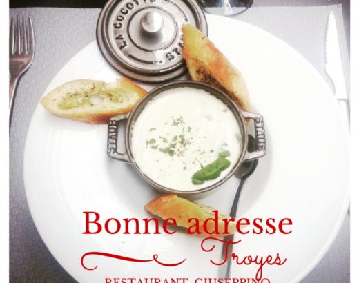 Le restaurant italien Giuseppino à Troyes
