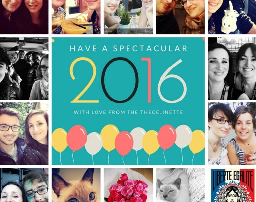 Bye bye 2015. Hello 2016 !