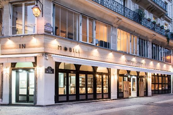 Bonne adresse Paris : le restaurant de poissons et crustacés Mobilis in Mobili