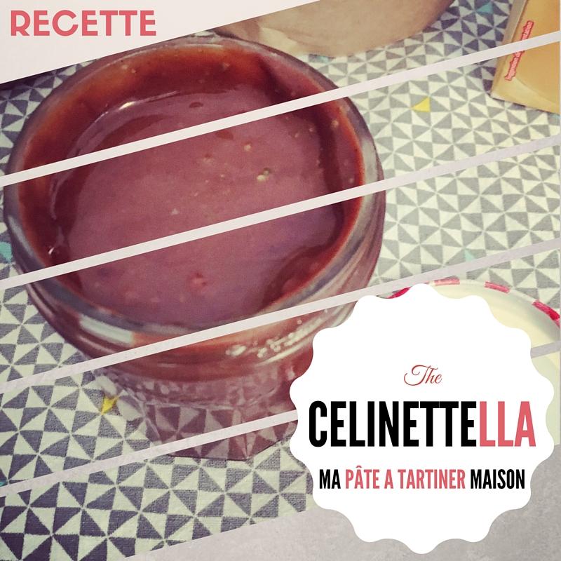 TheCélinettella : mon premier «Nutella» maison – pâte à tartiner home made