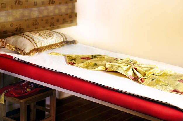 Le massage chinois amincissant aux azukis – Spa Lanqi