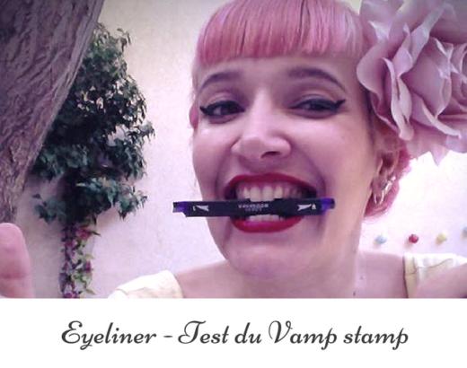 Vamp Stamp : un tampon applicateur pour faire votre trait d'eye-liner