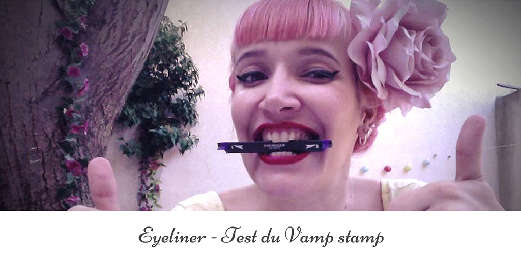 Vamp Stamp : un tampon applicateur pour faire votre trait d'eye-liner