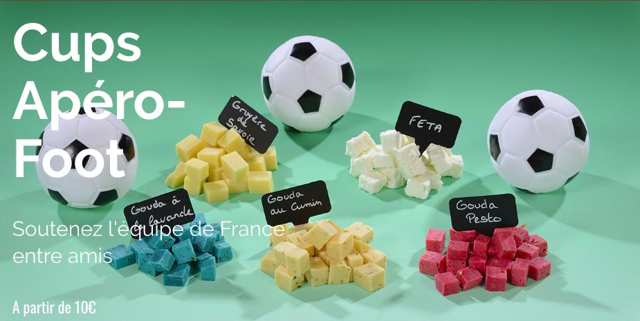 L'esprit foot : convivialité autour d'un plateau de fromages de chez Pouillot #CONCOURS