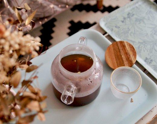 Test : théière en verre Akeshia de Nature & Découvertes