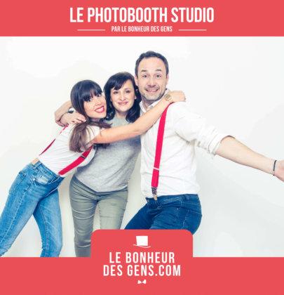 Immortaliser un souvenir : le photobooth studio photo par «Le Bonheur des Gens»